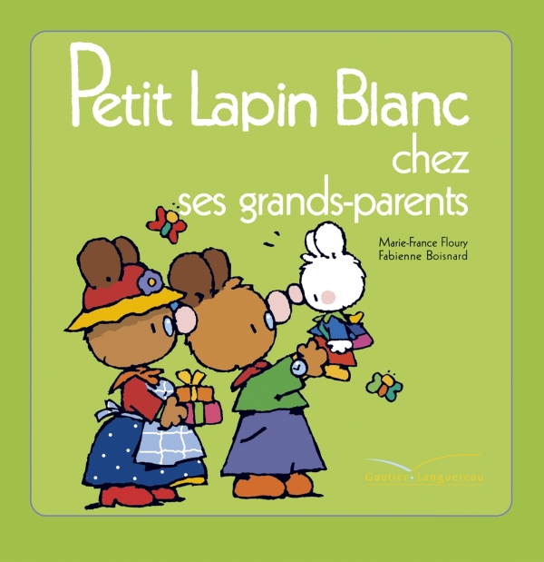 Petit Lapin Blanc chez les grand-parents