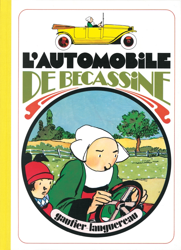 L'Automobile de Bécassine